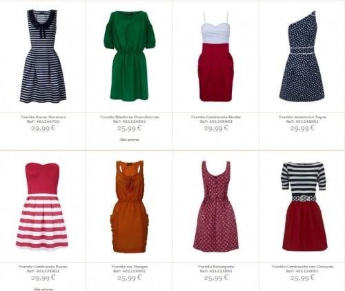 ropa online en blanco