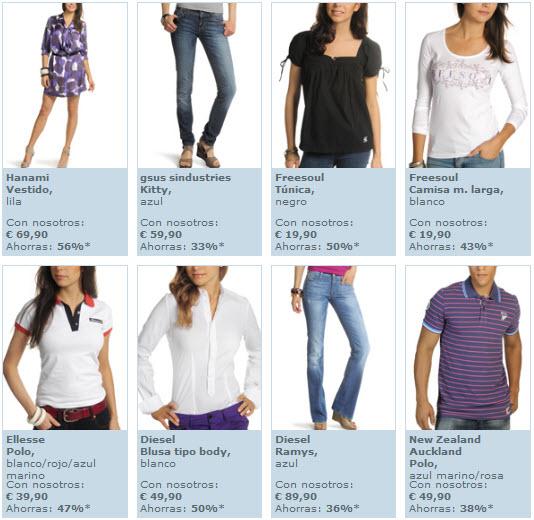 ropa online rebajas