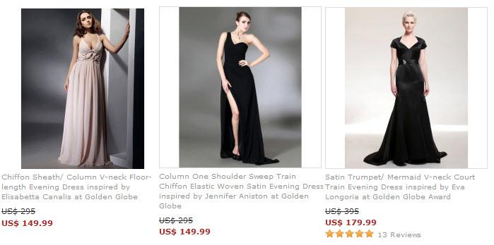 copias de vestidos de famosas
