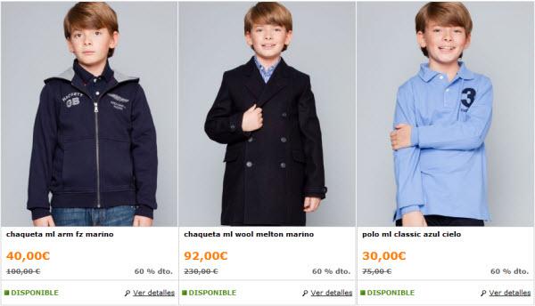 hackett ropa niños