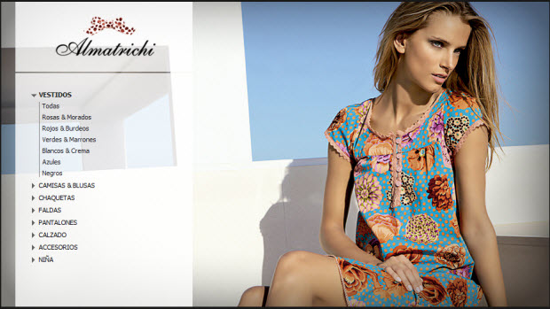 vestidos almatrichi