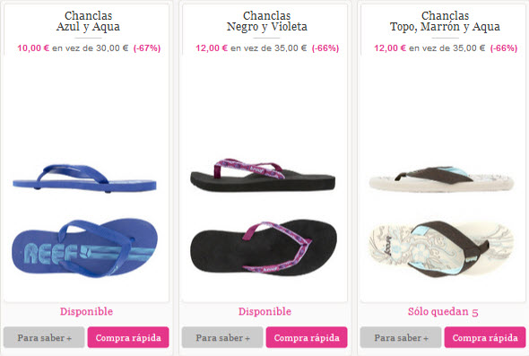 chanclas reef