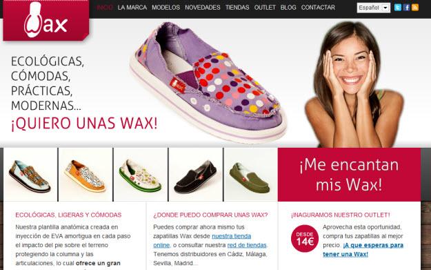 zapatillas wax
