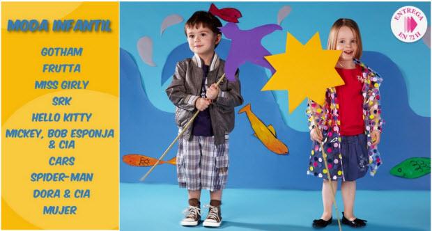 rebajas de moda infantil