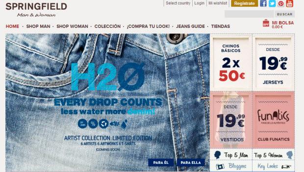 comprar ropa de Springfield online