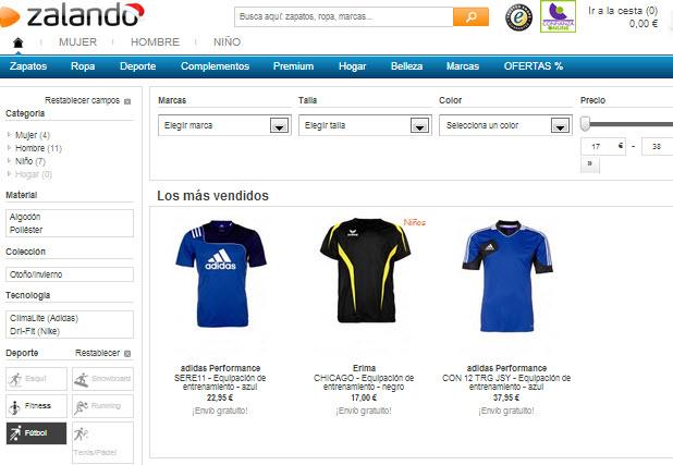 comprar camisetas deportivas online