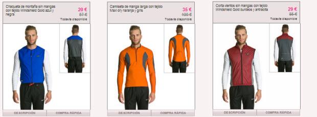 ropa tecnica de ciclismo