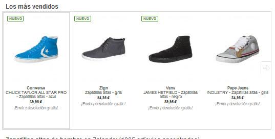 comprar zapatillas altas