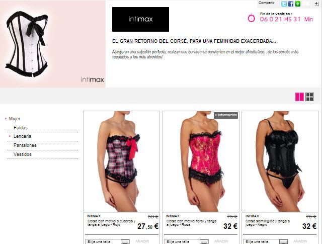 Comprar cors s online la ropa interior m s elegante y for Ropa interior provocativa