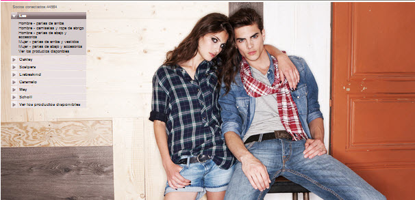 ropa lee outlet
