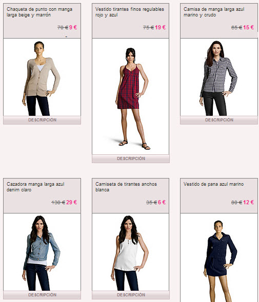 ropa mujer lee