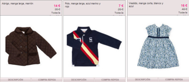 ropa gocco outlet
