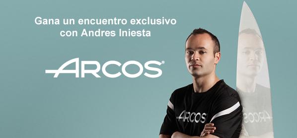 Conoce a Andrés Iniesta mediante el concurso de Arcos