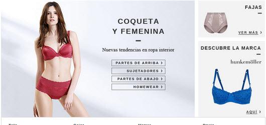 ropa interior femenina