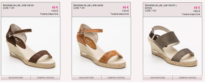 f9793503109c Zapatos Sara Navarro rebajados al -60% en Vente Privee