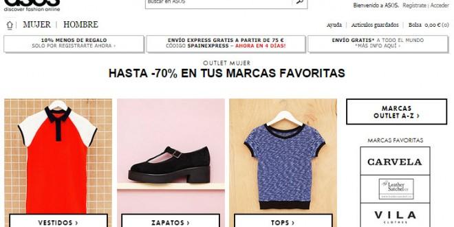 Asos Outlet: opiniones sobre los vestidos y zapatos en España