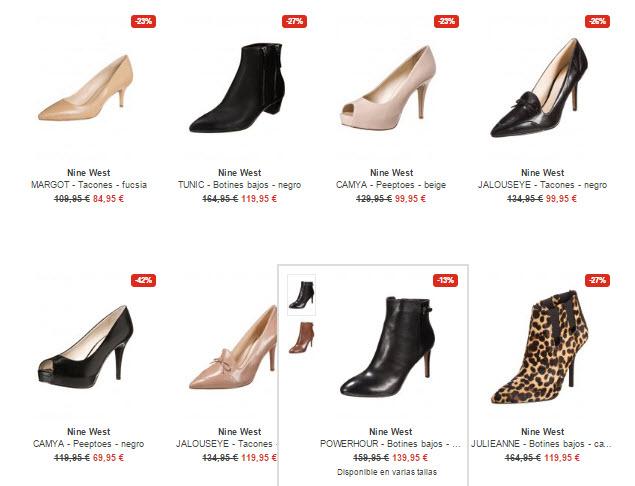 Comprar online Zapatos, botines y bolsos para mujer
