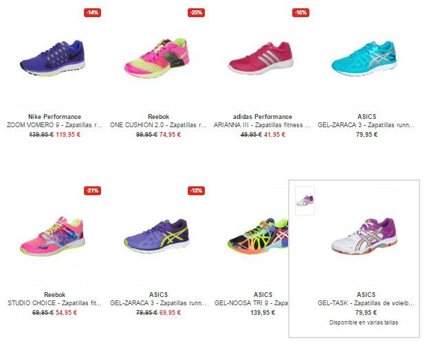 zalando zapatillas deportivas de mujer