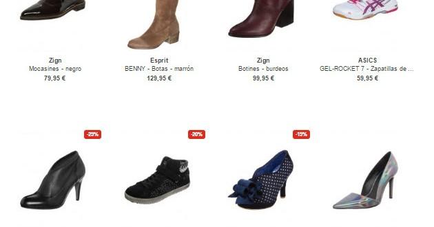 Zalando: zapatos de mujer y calzado a precios reducidos