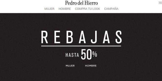 Rebajas Pedro del Hierro 2015: análisis de sus ofertas online