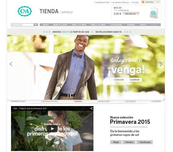 C&A tienda online