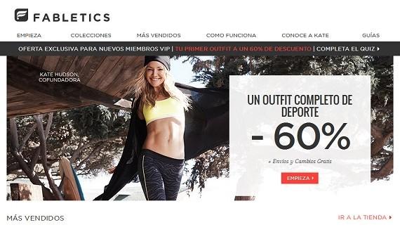 Fabletics España: opiniones sobre la ropa deportiva