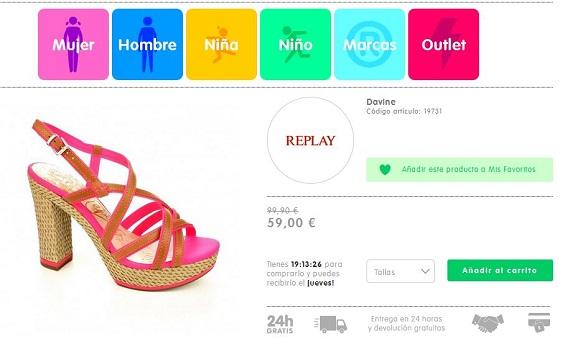 shopiteca sandalias