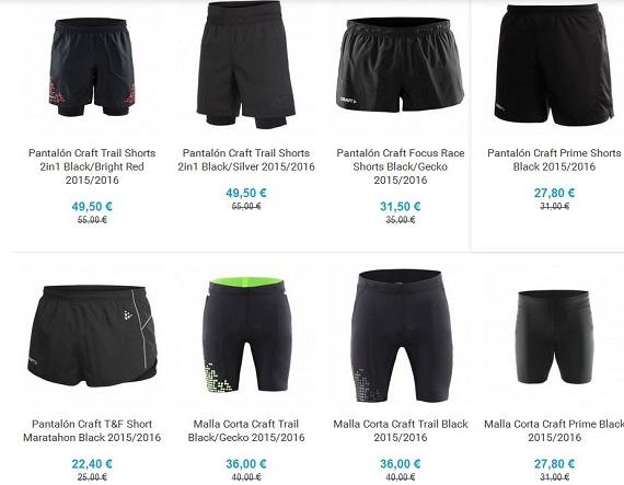 ropa deportiva para running