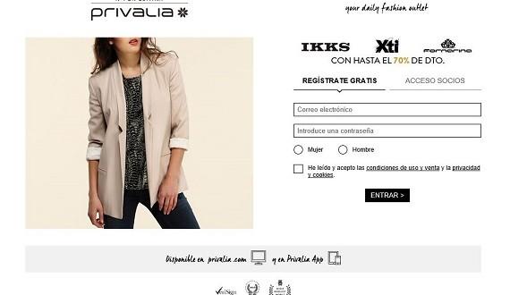 Privalia: opiniones 2016 de ropa, vestidos y zapatos