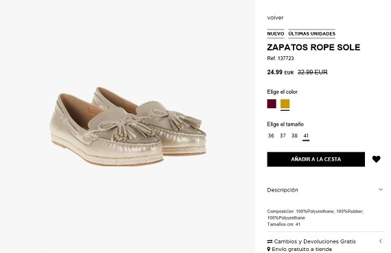 Rebajas Parfois 2016 zapatos