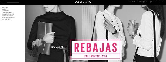 Rebajas Parfois 2016 online: bolsos, zapatos y bisutería