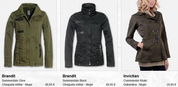 ropa militar precios