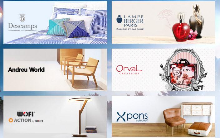 Ventas privadas de hogar muebles y decoracion online en 2016 for Decoracion hogar online