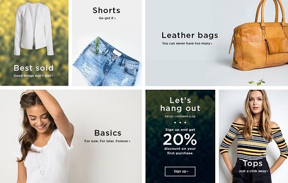 pieces tienda online