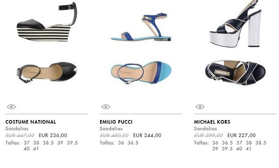 yoox zapatos mujer