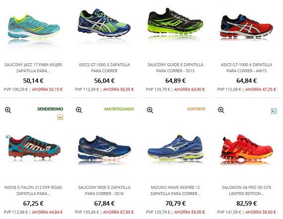 zapatillas para correr baratas