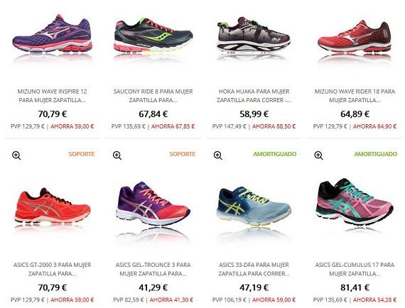 zapatillas para correr precios