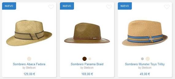 sombreros stetson precios