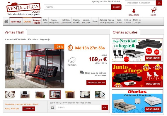 ventas privadas muebles