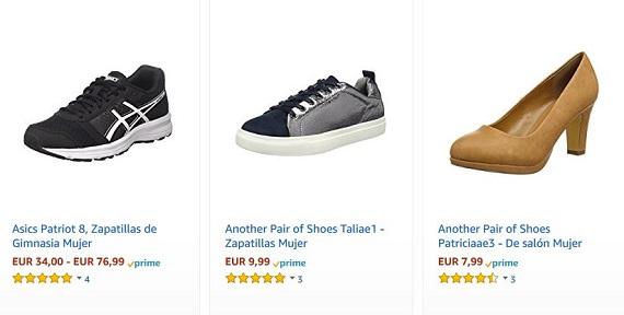 rebajas amazon 2018 zapatos
