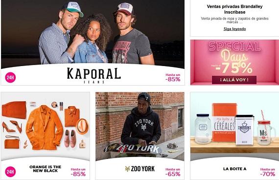 mejores portales de ventas privadas España