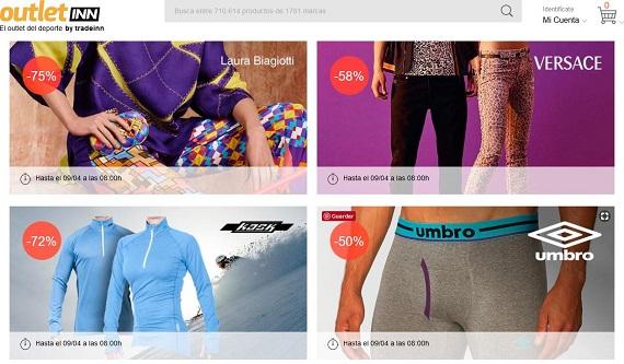 mejores portales de ventas privadas ropa deportiva