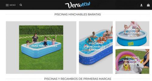 piscinas hinchables veranew
